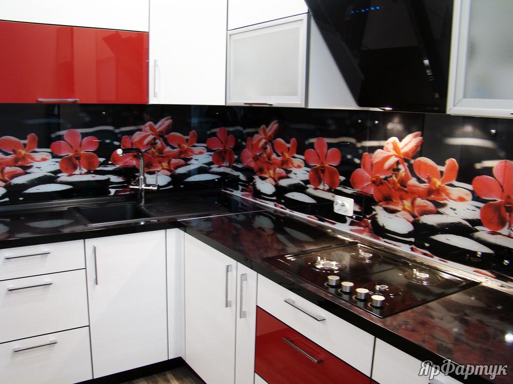 фартук для кухни из нержавеющей стали фото