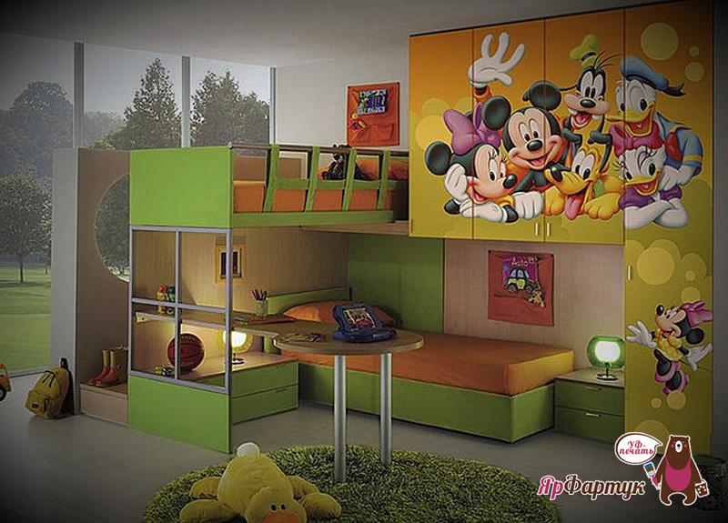 Фотопечать детская 12 фотогалерея мебели.